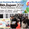 BioJapan 2014 World Business Forum in Yokohama, Japan