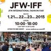 JFW International Fashion Fair (JFW-IFF) 2015 in Tokyo, Japan