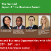 The Second Japan-Africa Business Forum in Tokyo