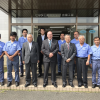 Indiana's Crawfordsville Mayor visit to automotive parts manufacturer Hiruta Kogyo in Okayama, Japan