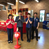 "Japan's solenoid manufacturer Takaha Kiko starts mass production of a nice clapping robot ""Big Clapper"""