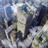 Sumitomo Forestry Plan to Build 350 Meter-tall Wooden High-rise Building in 2041