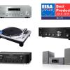 Japanese brands selected by Hi-Fi category of EISA AWARDS 2018-2019