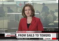 NHK WORLD : In Focus 'From Sails to Towers'