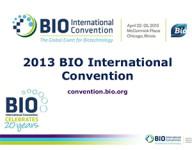 Japan Pavilion at the 2013 BIO International Convention