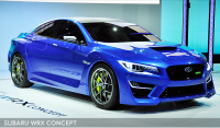 SUBARU Press Conference in New York International Auto Show 2013
