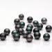 Komatsu Cutting Factory: Black Hana Pearl (Faceted Pearl)