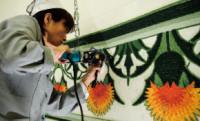 Oriental Carpet Mills Craftswoman