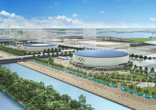 2020 Tokyo Olympics: The Olympic Gymnastic Centre stands in Tokyo