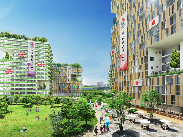 2020 Tokyo Olympics: The Olympic Village/Paralympic Village in Tokyo