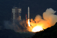 "Japanese New Generation Rocket ""Epsilon-1″ Launched with Just Two Laptop Computers in a Pared-down Command Center"