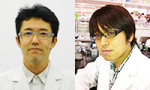 Assoc. Prof. Kabashima(Left), Postdoc fellow Otsuka(Right)