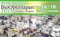 BioOpto Japan 2013 in YOKOHAMA JAPAN Oct 16-18, 2013