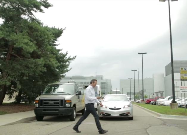Honda: Vehicle-to-Pedestrian (V2P) Technology
