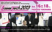 LaserTech 2013 in YOKOHAMA JAPAN Oct 16-18, 2013