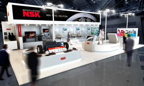 NSK Exhibits at 43rd Tokyo Motor Show