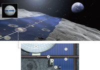 Shimizu Corporation Has Master Plan For Giant Solar Panel Belt Around Moon To Solve Energy Problems