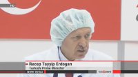 Turkish Prime Minister Attended to the Ceremony for the Delivery of the Satellite