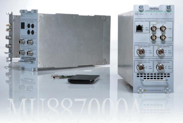 Anritsu Corporation: Technologies/Solutions