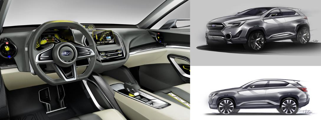 World Premiere Of The Subaru Viziv 2 Concept At The 2014 Geneva