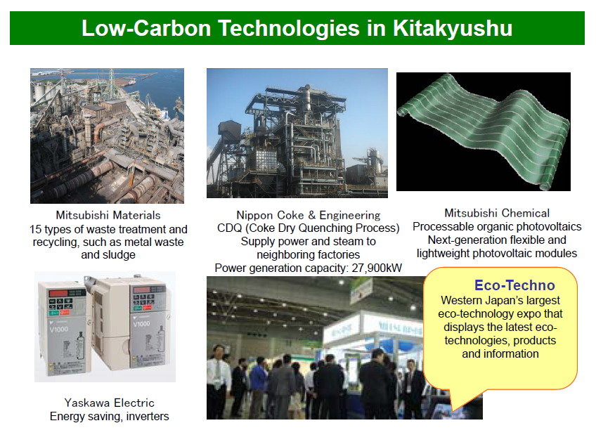 Low Carbon Technologies in Kitakyushu