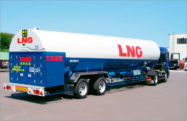 Air Water Plant & Engineering Inc. - LNG MonocockLorry