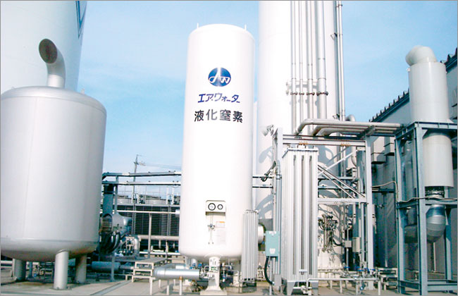 Air Water Plant & Engineering Inc. - Low Temperature Liquefied Gas Storage Tank