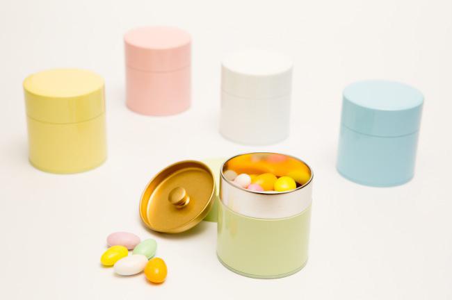 Kotodo Takahashi Corporation - Color Tin Tea Canisters