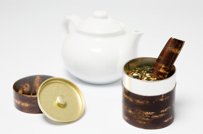 Kotodo Takahashi Corporation - Sakura Tin Tea Canisters