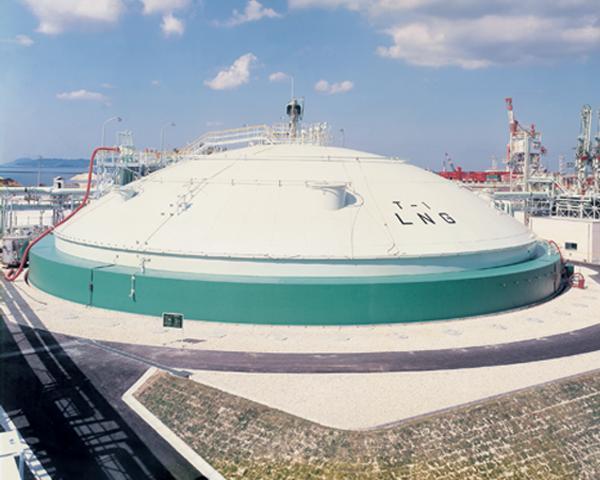 Shiraishi Iron Works Co., Ltd. - LNG Tank