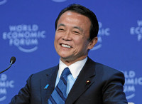 Japan's Deputy Prime Minister Taro Aso will support infrastructure in Asia for stimulating economy