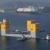 Fukushima Offshore Wind Farm Consortium - Towing three-column semi-sub at Nagasaki port