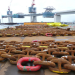 Fukushima Offshore Wind Farm Consortium - Chains and anchors at Onahama port