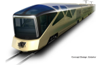 JR East Luxury Sleeper Train - Concept Design: Exterior