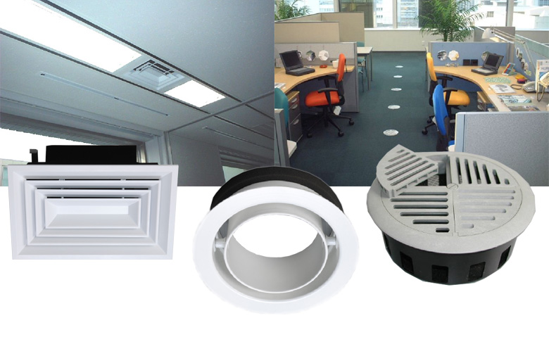 Kuken Kogyo Co., Ltd. - Diffuser and Air Grille