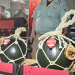 Black-rind watermelons fetch 350,000 yen at season's 1st auctions