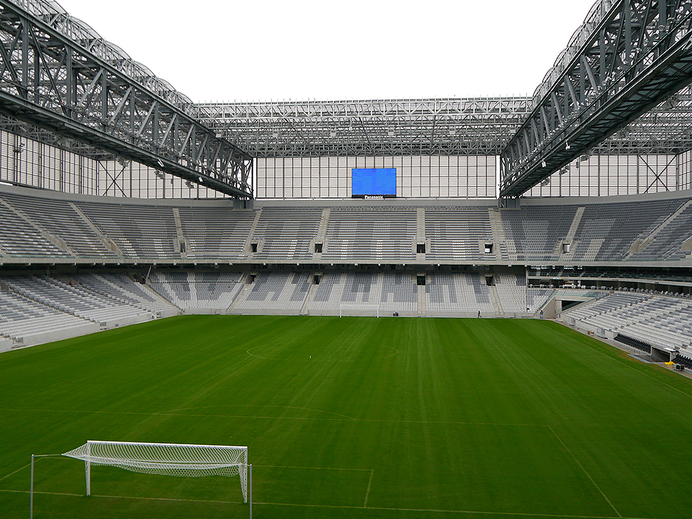 Panasonic's AV & Security Solutions To Be Active at the Stadiums in Brazil - 01