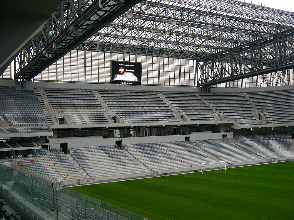 Panasonic's AV & Security Solutions To Be Active at the Stadiums in Brazil - 03
