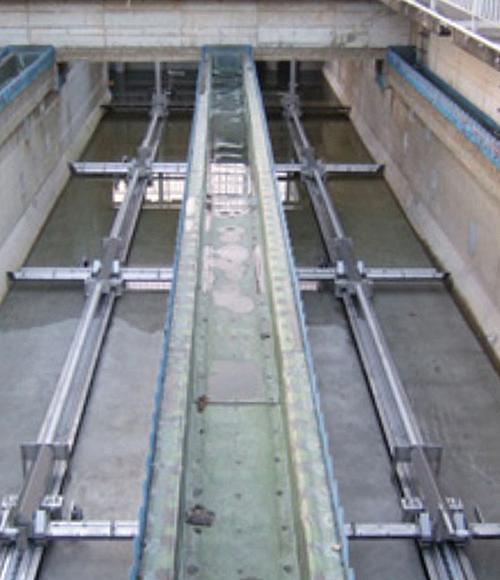 Fujiwara Industry Co., Ltd. - Monorail Type Sludge Removal System