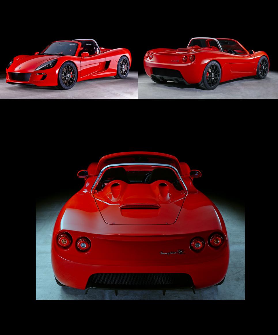 Green Lord Motors (GLM) Co., Ltd. - Tommy Kaira ZZ - Red