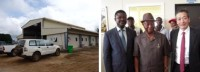 Japanese Construction Equipment Firm Supports Human Resource Development Project in Liberia