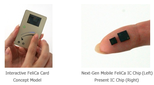 Sony - FeliCa Card and IC Chip