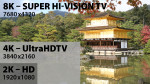 8K Super Hi-Vision TV