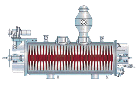 Eco-Stage Engineering Co., Ltd. - Structure of Oil Temperature Decompression Dryer