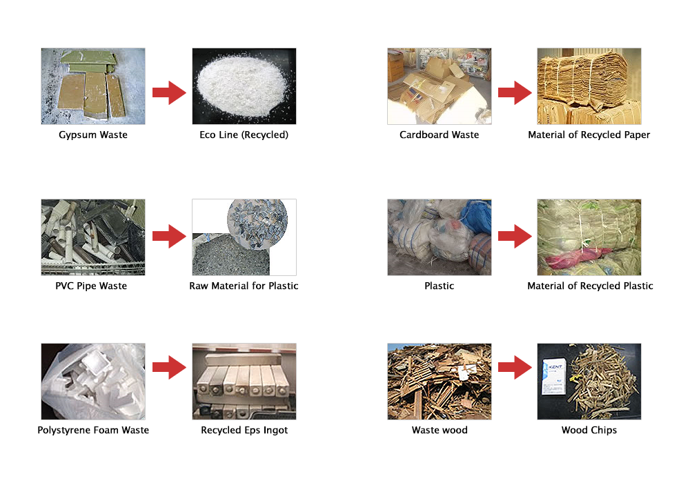 Koushin Industry Inc. - Recycled Materials from Industrial Waste