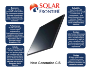 World's largest provider of CIS solar panels – Solar Frontier K.K.