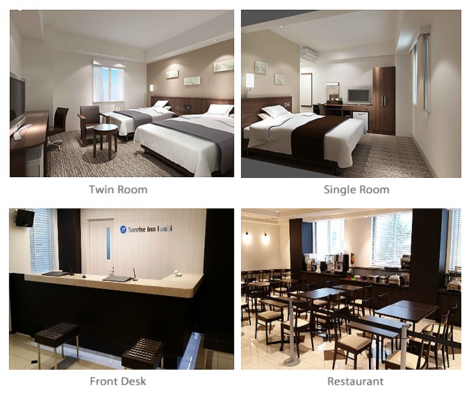 Sunrise Inn Iwaki - Rooms