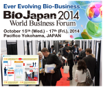 BioJapan 2014 World Business Forum - Banner2