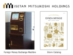 Isetan Mitsukoshi Holdings - for Foreign Visitors