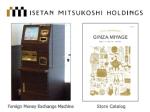 Isetan Mitsukoshi Holdings - for Foreign Visitors